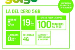 'La del Cero 5GB' de Yoigo suma 100 minutos gratis