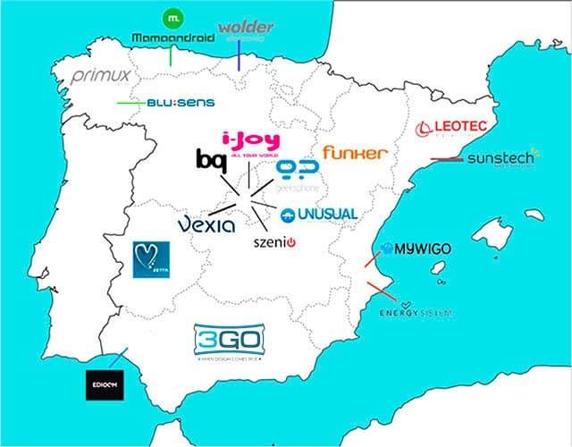 La capital española es sede de 6 de los 18 fabricantes repartidos por nuestro país.