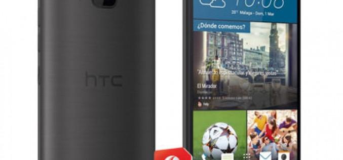 ¿Cuánto cuesta el HTC One M9 con Vodafone?