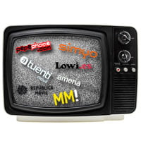 No sólo las grandes operadoras invierten en campañas televisivas.