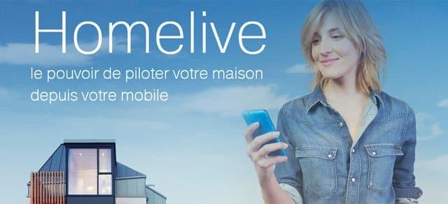 Orange Homelive, disponible en Francia, ofrece servicios y productos de domótica para el hogar 2.0.