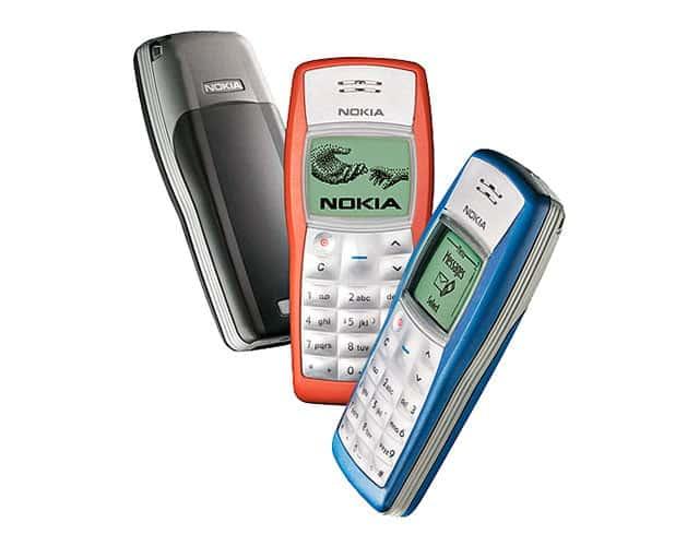 Nokia consiguió vender 220 millones de unidades con su modelo 1110