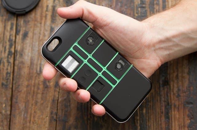 Los módulos de la carcasa pueden ser controlados vía Bluetooth