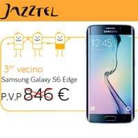 Al tercer 'vecino' que se convenza para contratar la fibra de Jazztel, el cliente recibe el Galaxy S6 Edge gratis