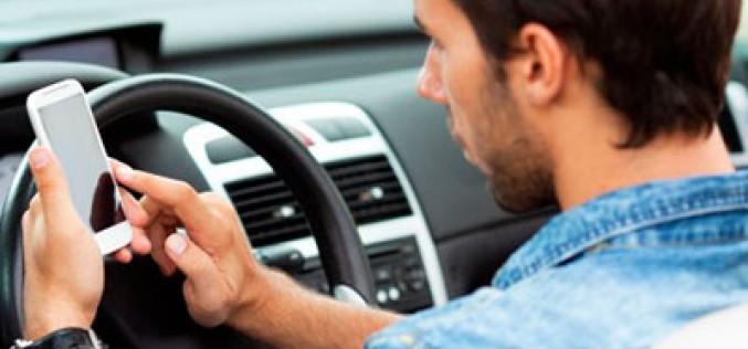 Smartphone al volante…