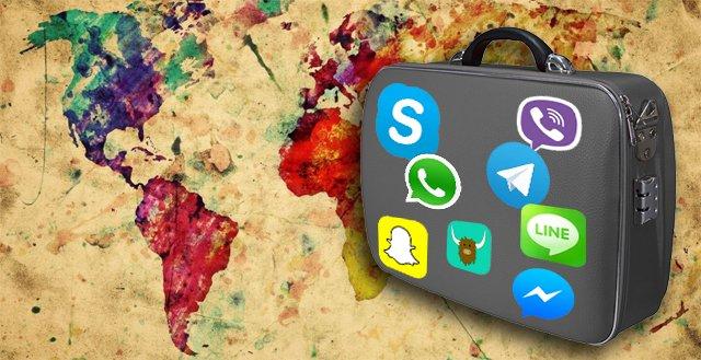 Recurrir a las aplicaciones de mensajería, sobre todo estando conectados a una red WiFi, es una buena forma de ahorrar estando en el extranjero sin perder el contacto con nuestros seres queridos.