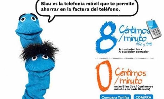 Blau llegó a España con la intención de ser la hermana pequeña de Simyo