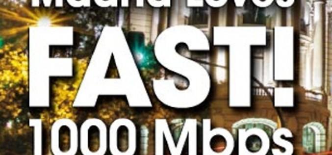 La fibra óptica a 1.000Mbps llega a Madrid
