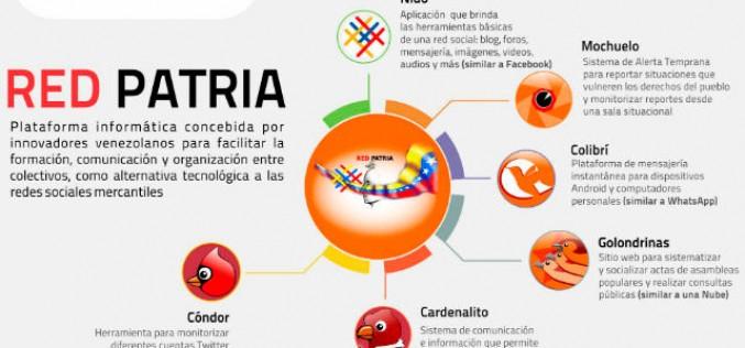 Venezuela lanza sus propias redes sociales
