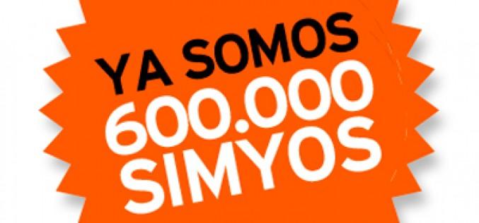 Simyo: 7 años y 600.000 clientes en España