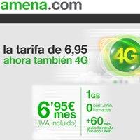 Todas las tarifas de Amena.com, por fin con 4G