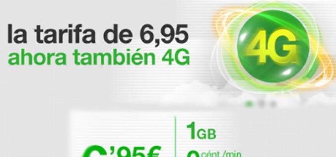 El 4G llega a la tarifa básica de Amena