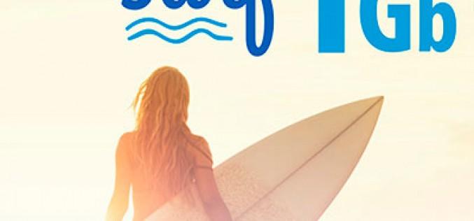 LCR lanza la nueva tarifa Surf con 1GB por 5 euros al mes