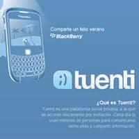 BlackBerry para Tuenti