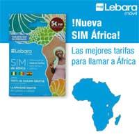 SIM África de Lebara Móvil