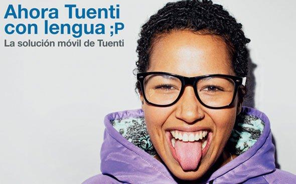 Campaña 'Saca la lengua' de Tuenti