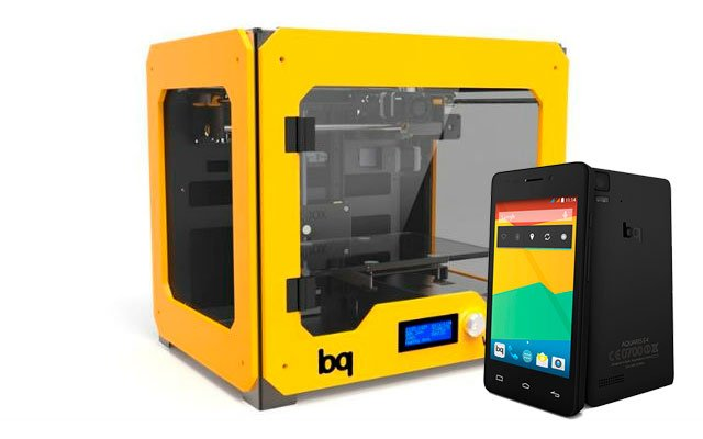 Impresoras 3D y móviles
