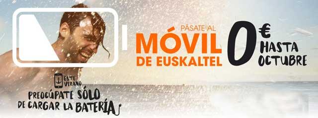 promoción de verano de Euskaltel