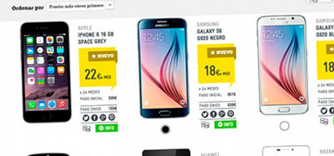 Masmóvil se suma a la financiación de móviles, pero con intereses