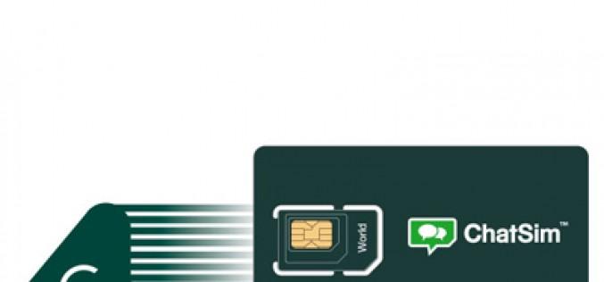 ChatSim estrena 4G y llega a nuevos países