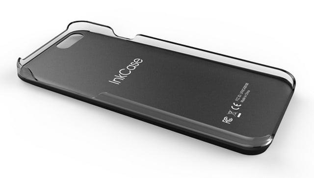 El diseño de la InkCase no convierte el smartphone en un armatoste excesivamente pesado y difícil de guardar en el bolsillo.