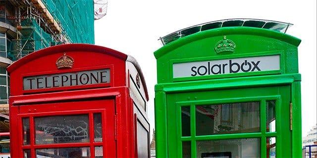 cabina telefónica Solarbox