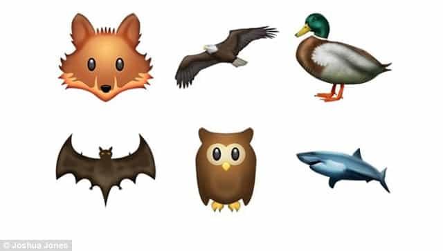 El particular zoo emoji se ampliará con nuevas incorporaciones.