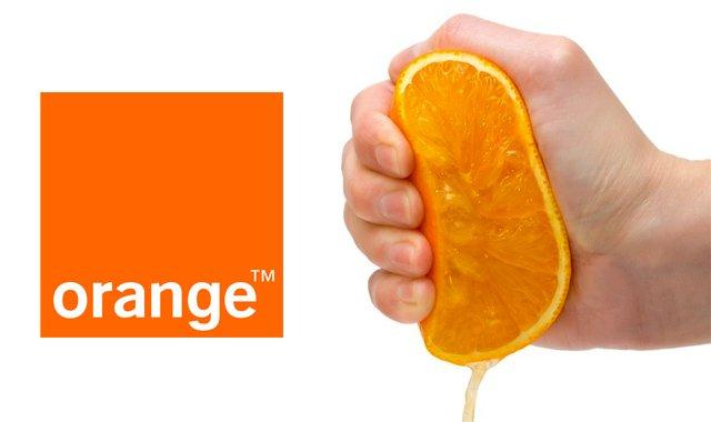 Orange está dispuesta a exprimir al máximo a los clientes con las tarifas más sencillas.
