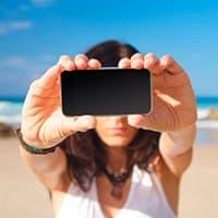 En estas fechas recuperar las fotos pérdidas del viaje a la playa es posible.