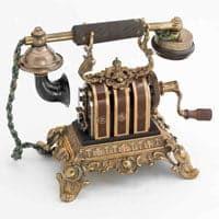 Teléfono de batería local y llamada por magneto - L.M. Ericsson - 1900/1910
