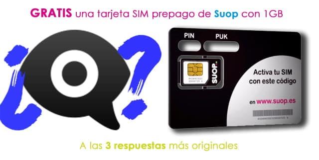 Adivinar qué puede significar el emoticono creado por Apple tiene premio: una tarjeta SIM de Suop con 1GB de datos móviles ¡de regalo!