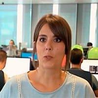 Sara, teleoperadora de Yoigo