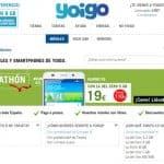 La tienda online de Yoigo