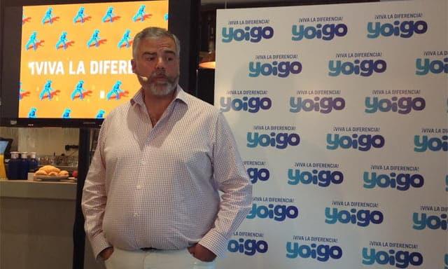 """Eduardo Taulet, CEO de Yoigo, cree que """"no va a haber un cuarto operador convergente en España... Ni que haga falta, por cierto""""."""