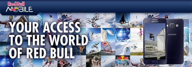 RedBull da algo más que 'alas' a sus clientes. En algunos países también ofrece cobertura como OMV.