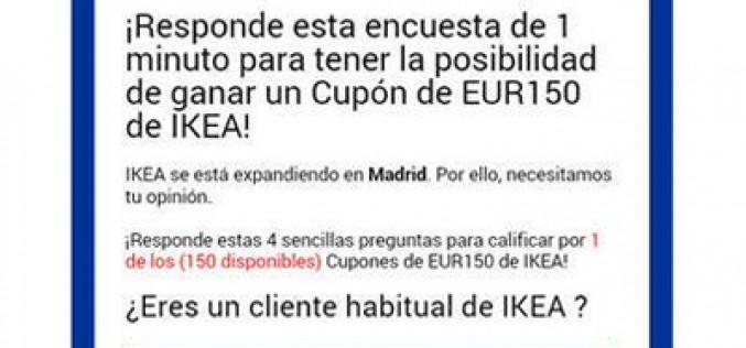 Ikea, último gancho del enésimo fraude en WhatsApp
