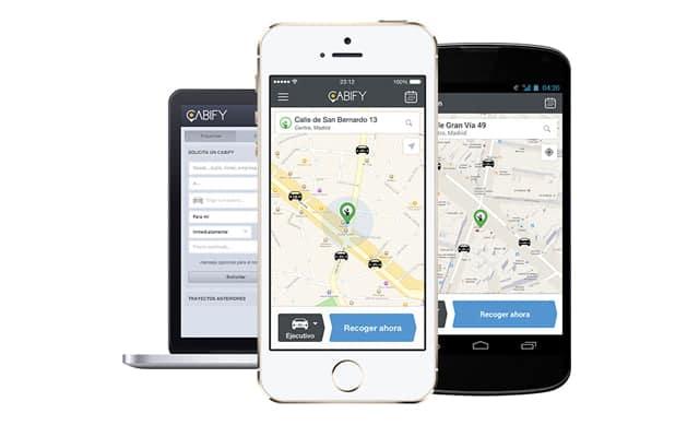 aplicaciones para contratar transporte