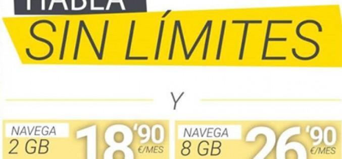 Masmóvil entra en la guerra: llamadas ilimitadas y 8GB por 26,9 euros al mes