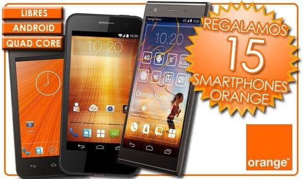 ¿Cuál de estos tres smartphones Orange quieres llevarte gratis? ¡Vota o participa en la quiniela que organizamos en las redes sociales para poder optar a uno!
