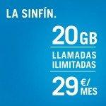 SinFín 20GB de Yoigo