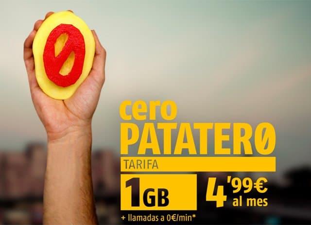 Tarifa Cero Patatero de Fibwi