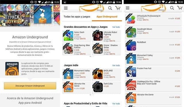 A nivel de industria, lo más destacado de Amazon Underground es el cambio en el modelo de negocio que introduce en el mercado de las aplicaciones móviles.