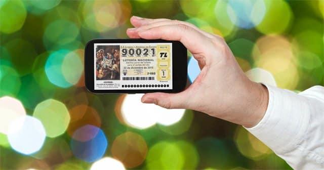 comprar Lotería de Navidad desde el móvil