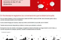 Vodafone acaba el año regalando las llamadas