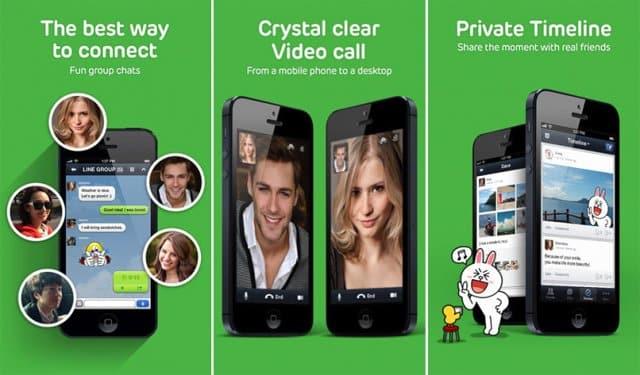 Hace tiempo que aplicaciones como Line ofrecen videollamadas. Sin emabrgo, y a pesar de sus carencias, WhatsApp sigue dominando el mercado con puño de hierro.