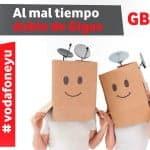 El doble GB en Vodafone Yu