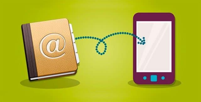 cómo copiar los contactos a un nuevo smartphone