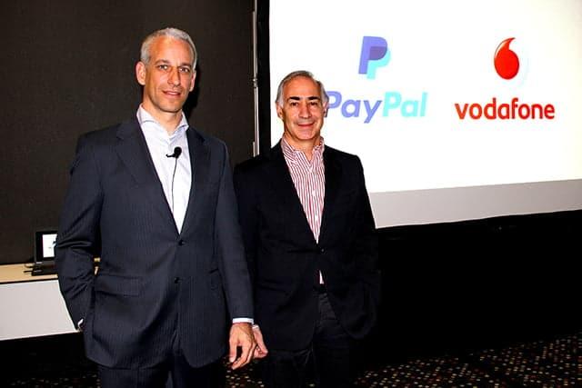 Presentación de Vodafone Wallet con PayPal