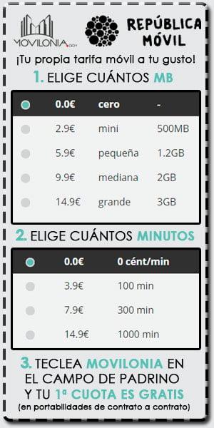 promoción República Móvil y movilonia.com