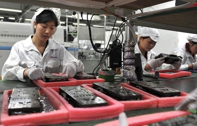 fabrica de móviles chinos